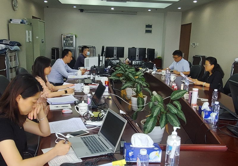 市审计局党组成员、副局长彭爱萍到市社保局审计现场调研指导工作